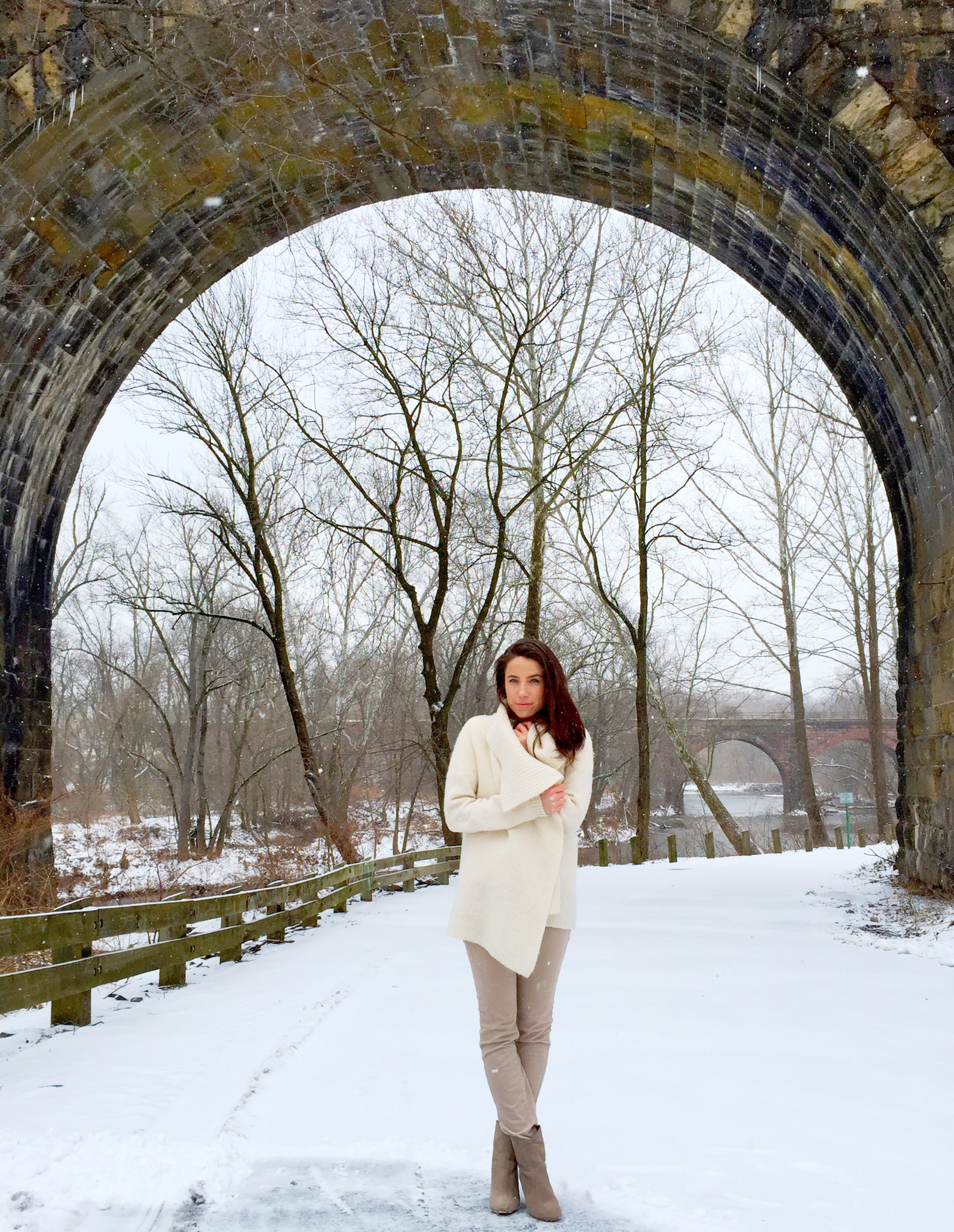outfit | snow day neutrals
