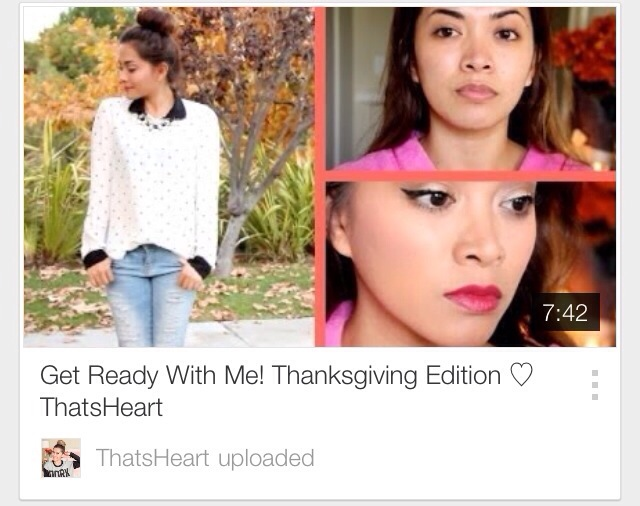 Friday Favorites | Youtube Style Vlogger | That's Heart