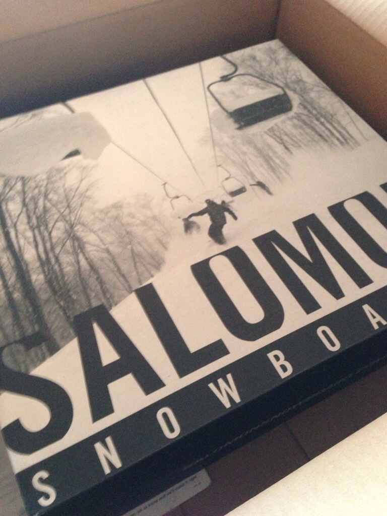 Salomon Snowboard Binding Box