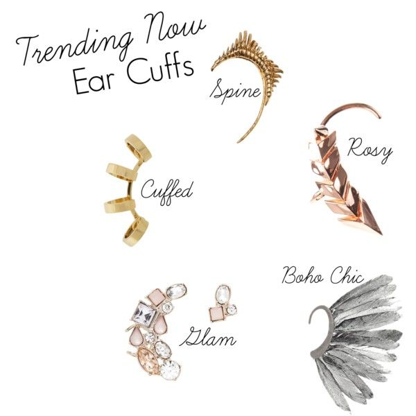 Trending Now - Ear Cuffs Jewelry