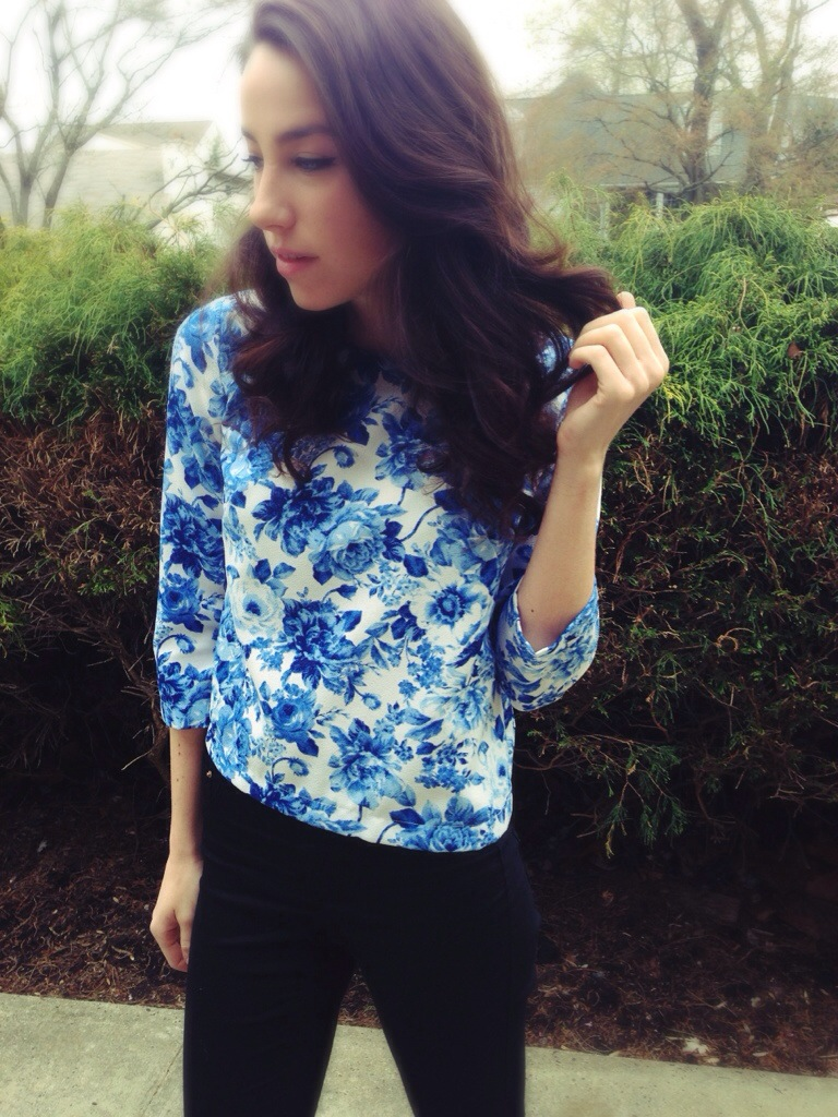 Spring Outfits   Florals   #KMKstyling
