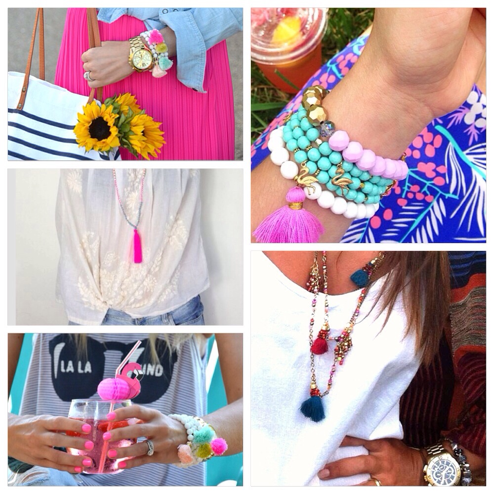 trending now: colorful tassels