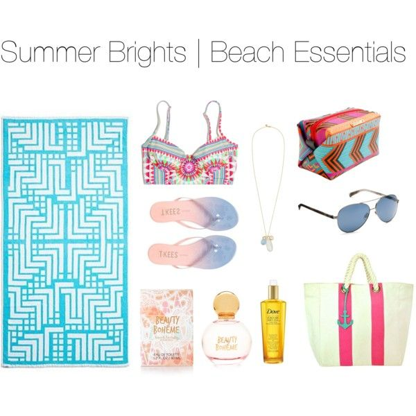 summer brights - beach essentials