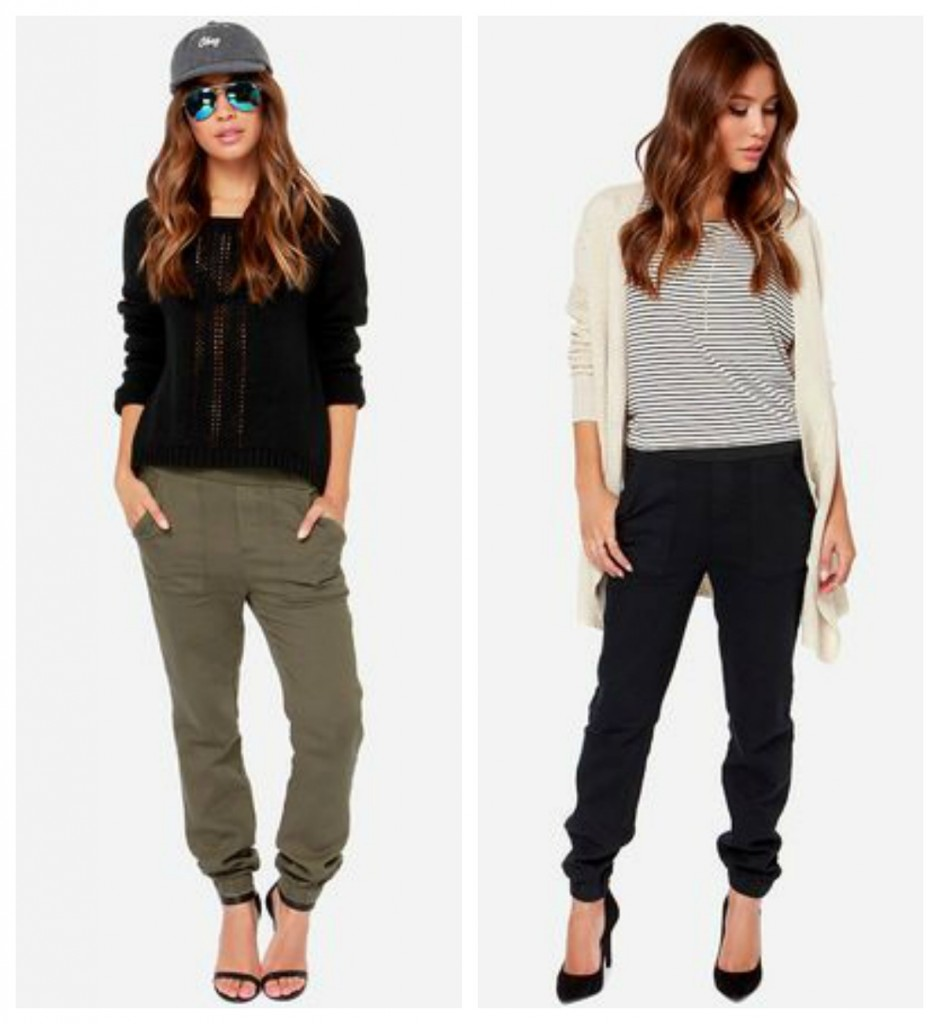 slouchy casual fall pants
