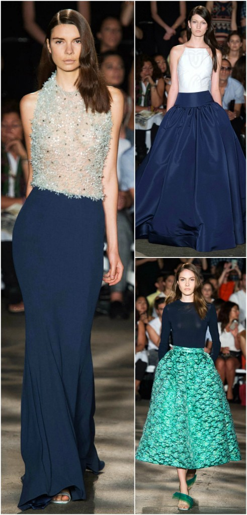 christian siriano spring 2015 navy favorites