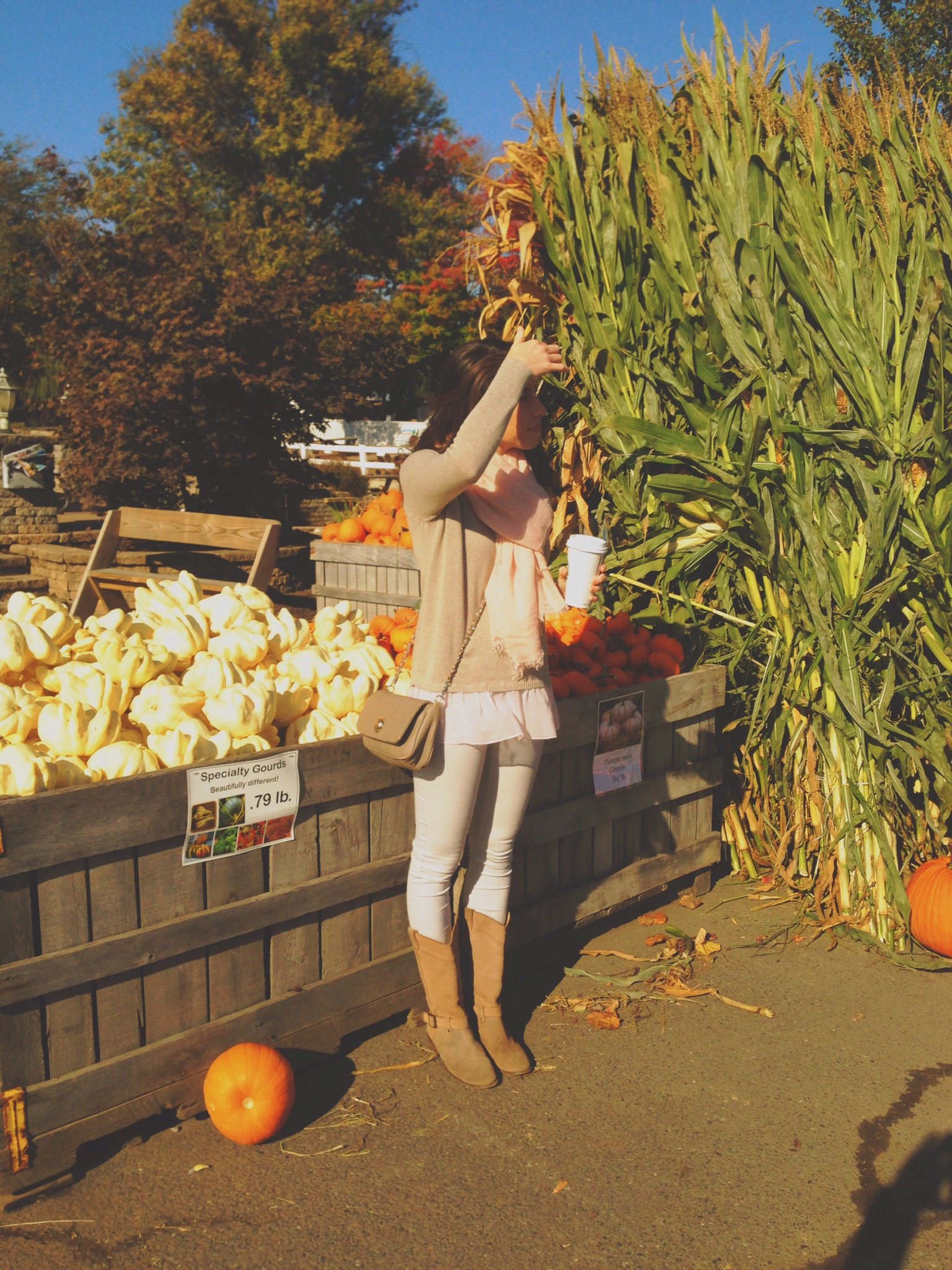 fall outfit | pumpkin patch | sweater weather