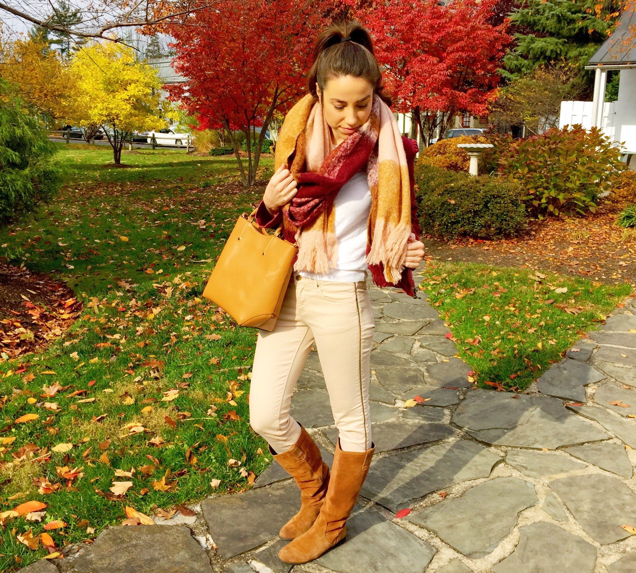 fall blanket scarf